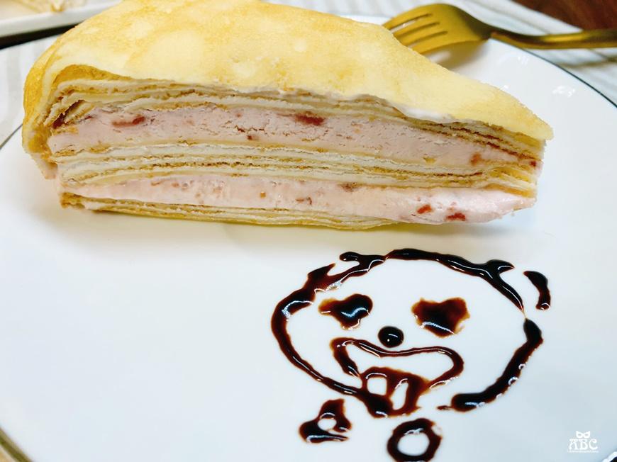 塔吉特千層蛋糕草莓甜心千層宅配美食