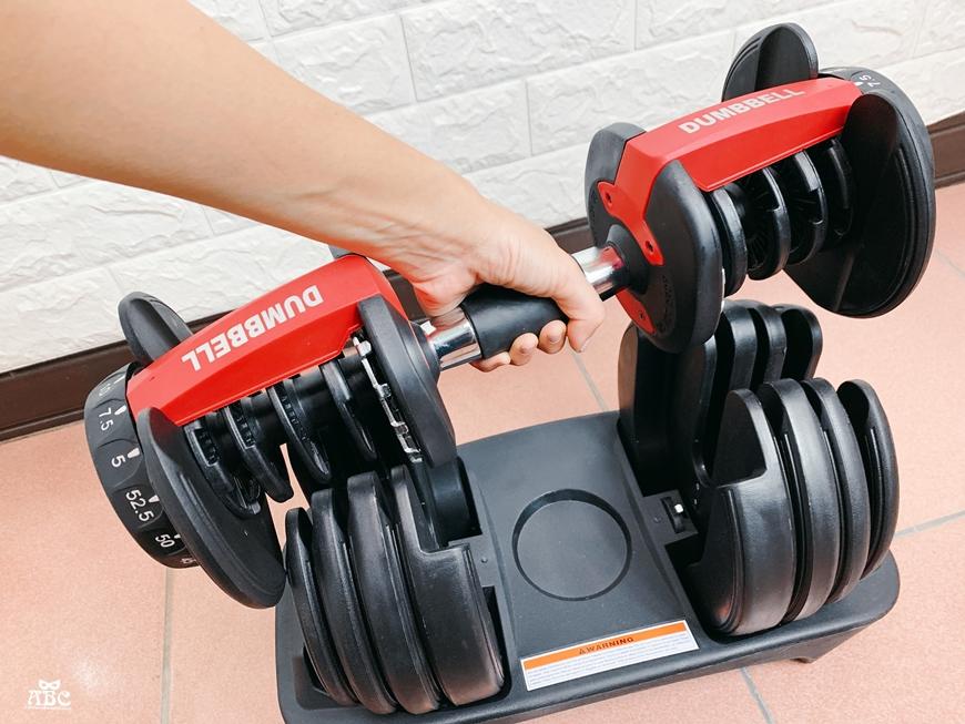 居家健身器材|重訓椅|可調節啞鈴|槓鈴運動訓練|24kg 15段重量可調式啞鈴 / 40kg 17段重量可調式啞鈴