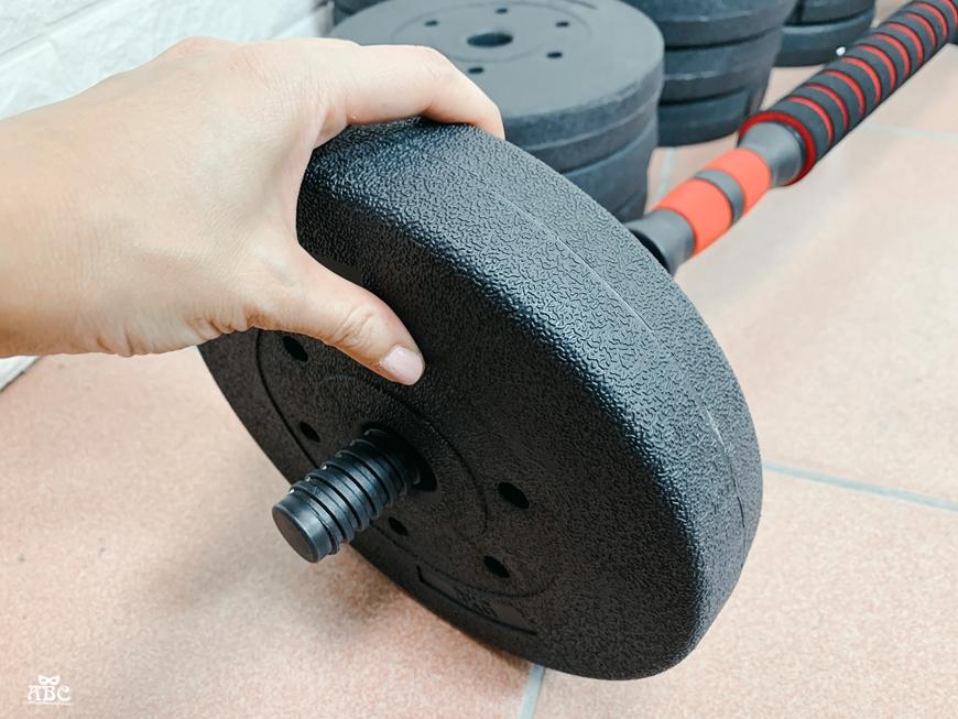 居家健身器材|重訓椅|可調節啞鈴|槓鈴運動訓練|40kg 啞鈴槓鈴兩用組