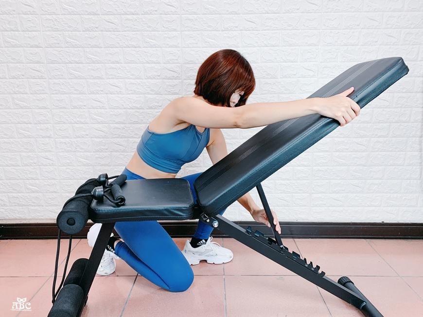 居家健身器材|重訓椅|可調節啞鈴|槓鈴運動訓練|可調式2合1重訓椅 BK-567