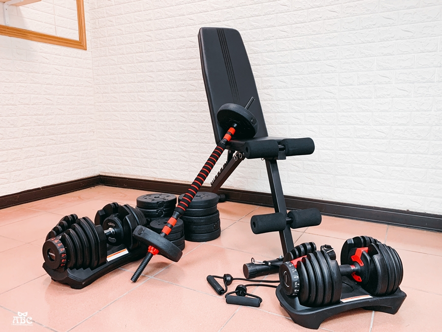 居家健身器材|重訓椅|可調節啞鈴|槓鈴運動訓練
